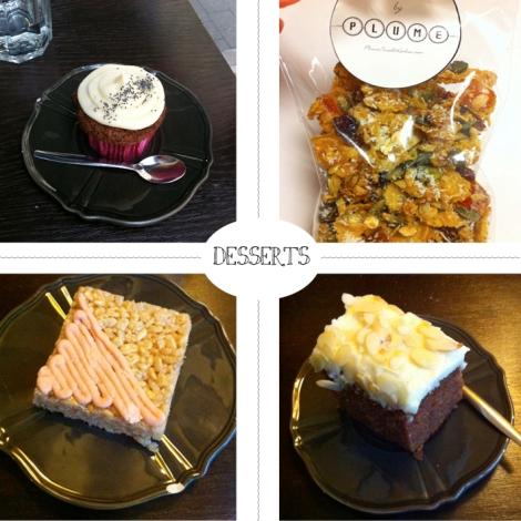 Les desserts chez PLUME