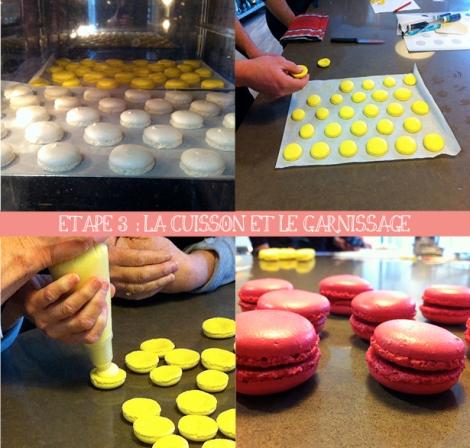 Etape 3 macarons