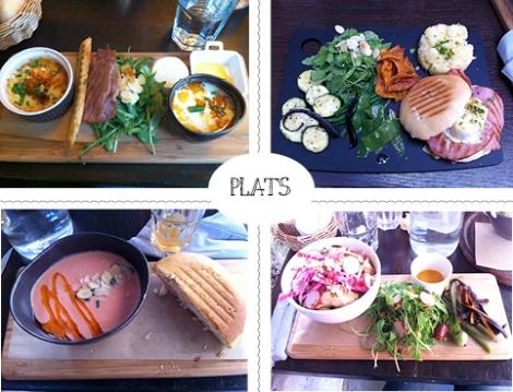 Les plats chez PLUME
