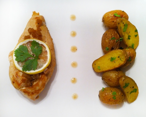 escalopes poulet au citron confit 2