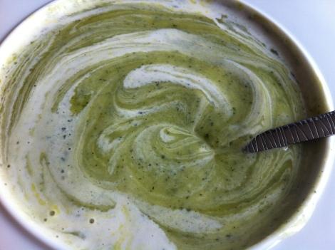 soupe kiri courgette