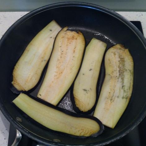 aubergines, lasagnes végétariennes