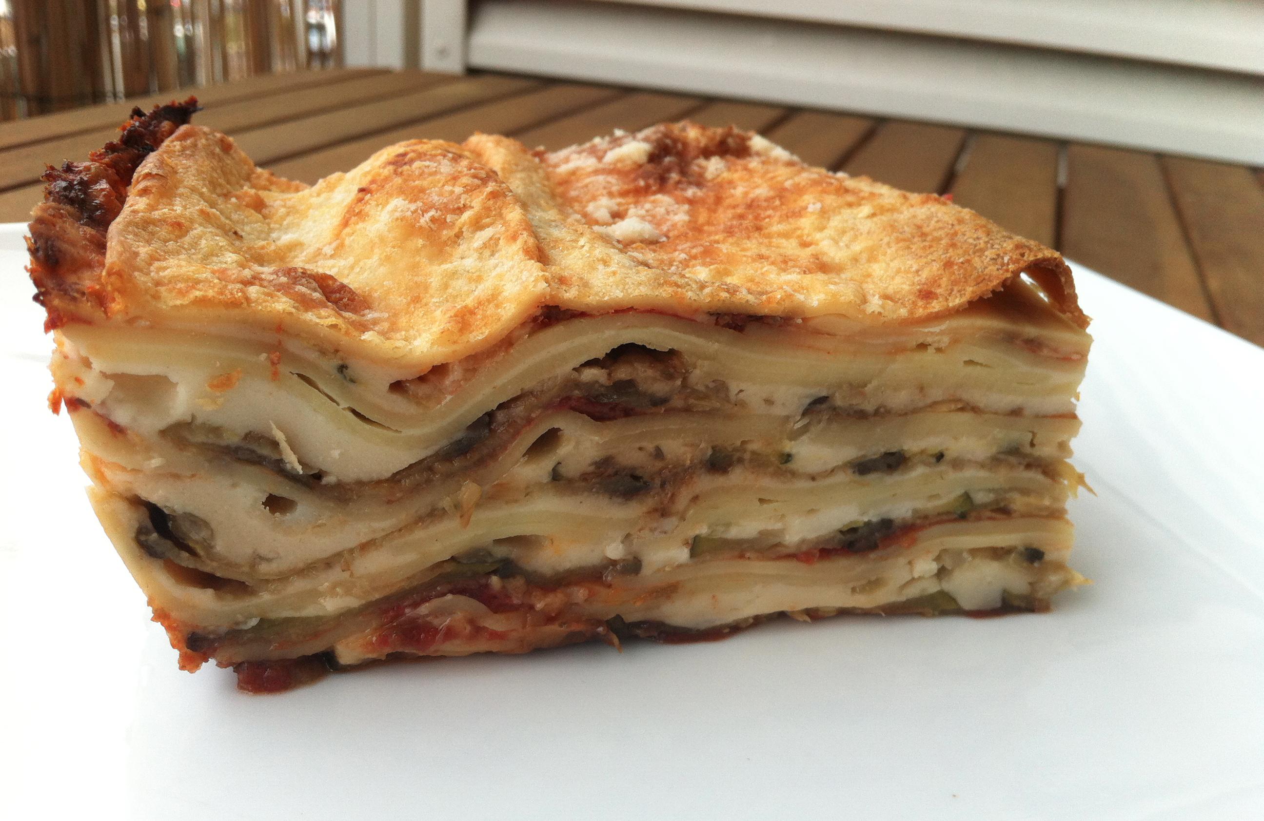 recettes des lasagnes vegetariennes blogs de cuisine. Black Bedroom Furniture Sets. Home Design Ideas