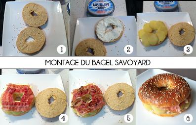 MONTAGE DU BAGEL SAVOYARD