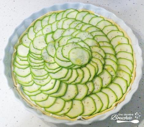 tarte fine courgettes saint moret