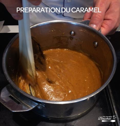 preparation du caramel